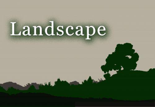 Landscape Design For Product