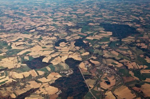 Landscape From A Plane