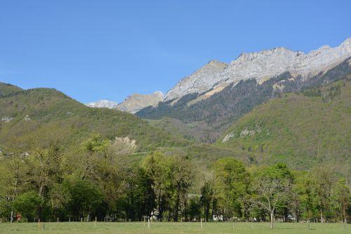 landscape mountain haute savoie annecy