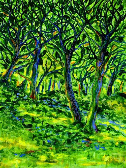 landscape painting  postimpressionisme  colourist