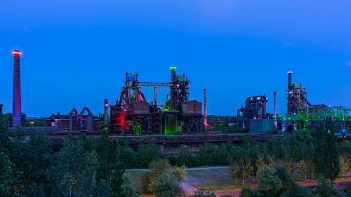 landscape park duisburg factory