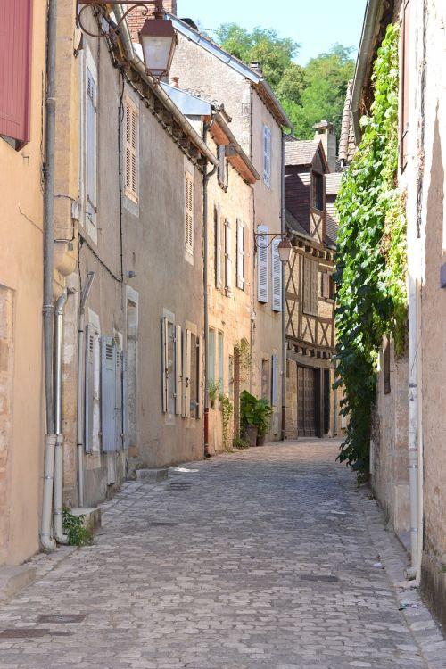 lane france old village