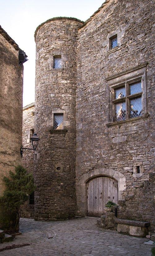 lane  village  medieval