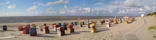 langeoog  east frisian island  beach