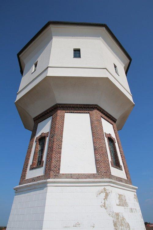 langeoog  landmark  water tower
