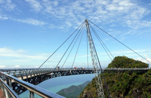 langkawi suspension bridge malaysia