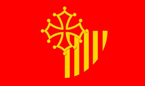languedoc-roussillon flag region