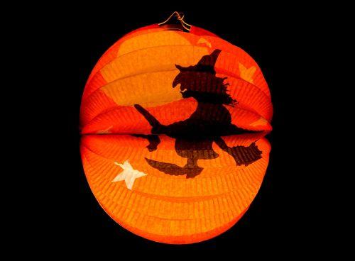 lantern halloween autumn