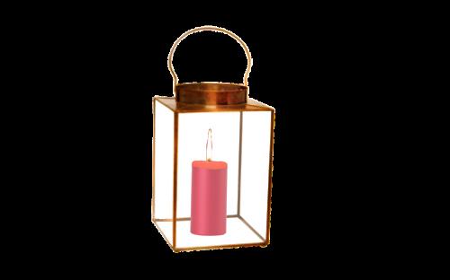 lantern metal candle