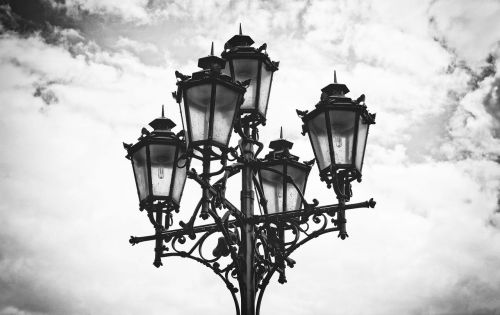lantern lamp street