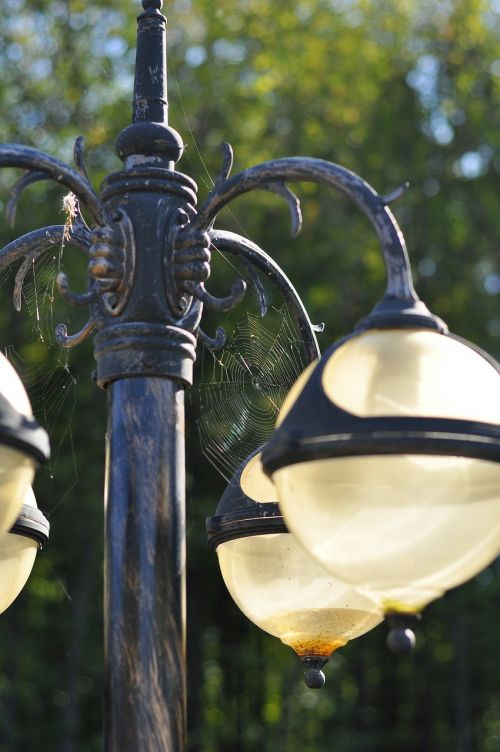 lantern street lamp light bulb