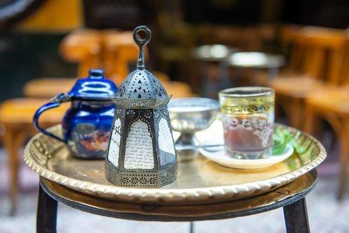 lantern  ramadan  tea