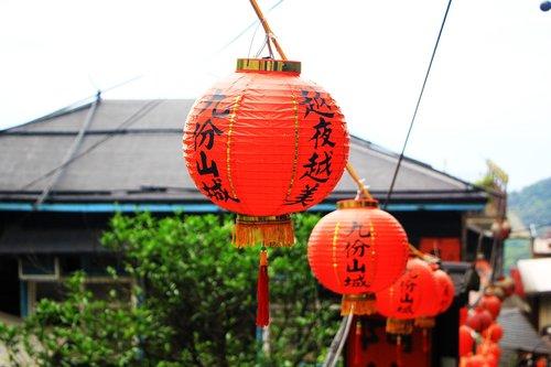 lantern  chinese  streets