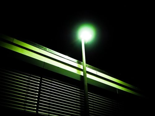 lantern window night