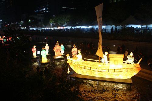 lantern festival republic of korea seoul
