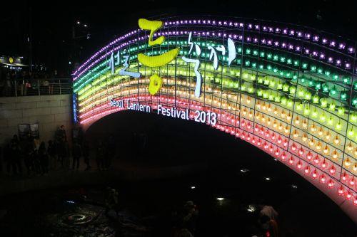 lantern festival seoul cheonggyecheon stream