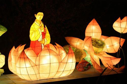 lantern festival cheonggyecheon stream kkotdeung festival