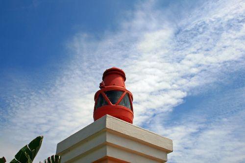 Lantern On Pillar