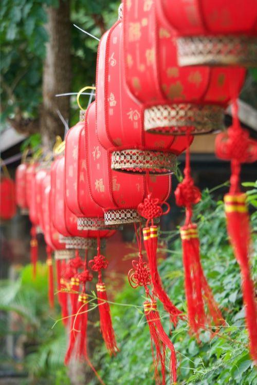 lanterns sanya decoration