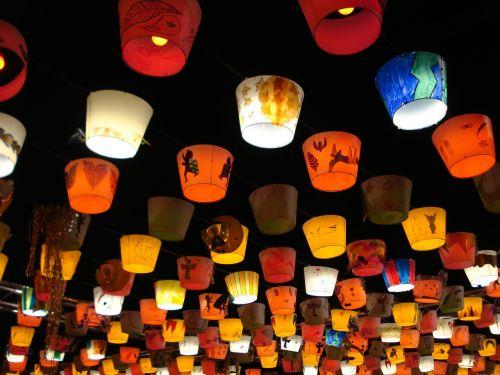 lanterns lights christmas