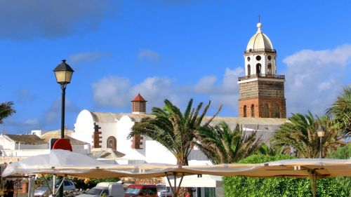 lanzarote costa tequise church