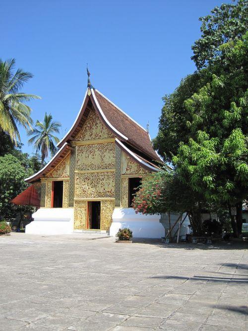 luang prabang laos shrine