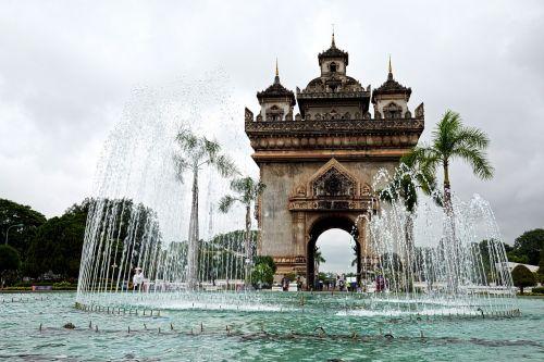 laos vientiane monument