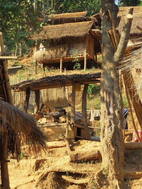 laos village rural