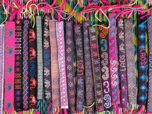 laos bracelets folk art