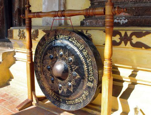 laos vientiane wat pha that luanggong
