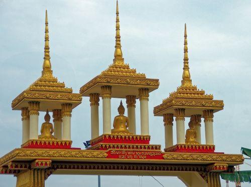 laos vientiane temple