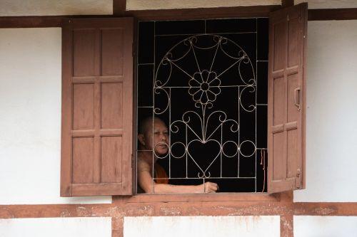 laos vientiane monk