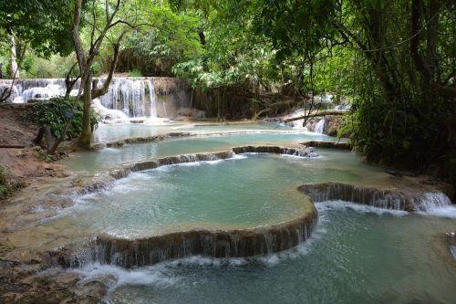 laos cascade kouang sy