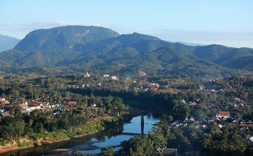 laos  luang prabang  the scenery