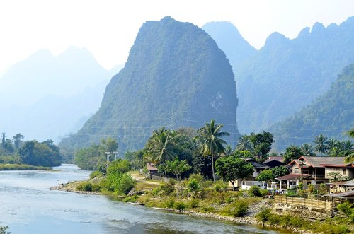 laos  luang prabang  hill