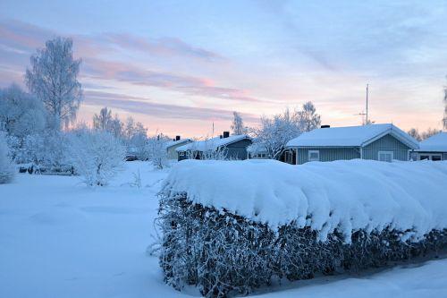 lapland sweden wintry