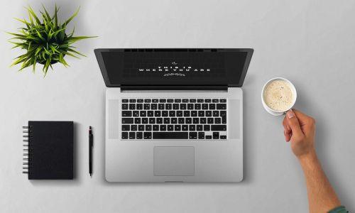 laptop coffee arm