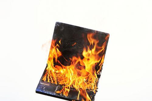 laptop fire stress