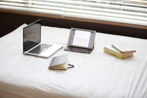 laptop notebook book