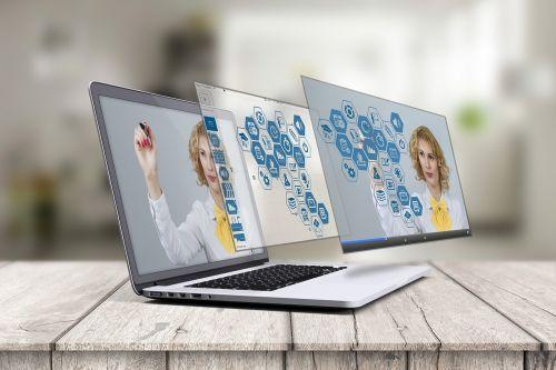 laptop prezi 3d presentation