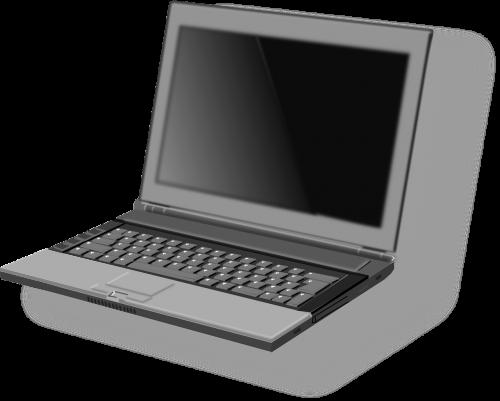 laptop black computer