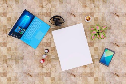 laptop  notebook  poster