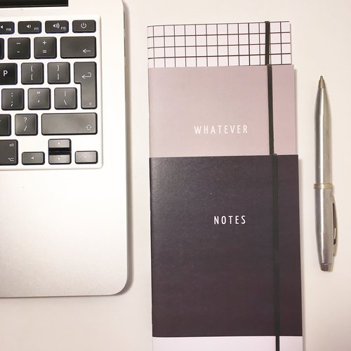 laptop  business  diary