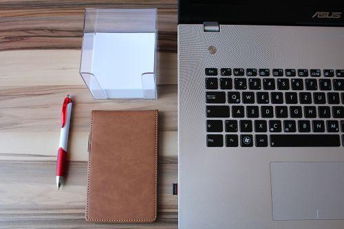 laptop notebook desk