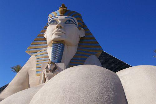 las vegas pharaoh egypt
