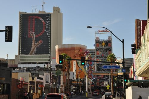 las vegas downtown city