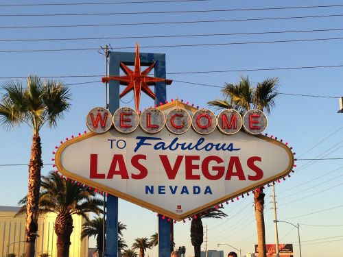 las vegas sign welcome