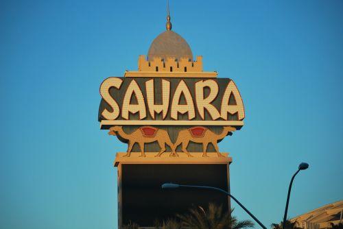 las vegas sahara casino landmark