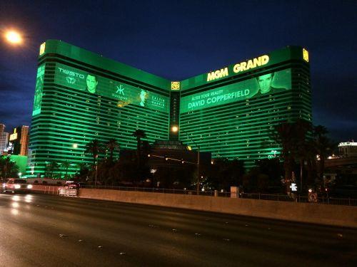 las vegas strip mgm grand hotel