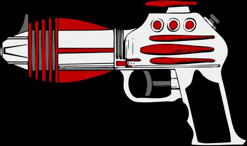 laser gun weapon